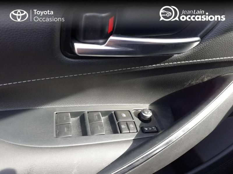 Toyota Corolla Corolla Hybride 122h Design 5p Rouge occasion à Seynod - photo n°20