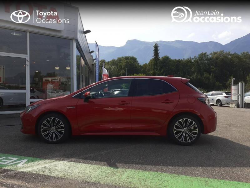 Toyota Corolla Corolla Hybride 122h Design 5p Rouge occasion à Seynod - photo n°8
