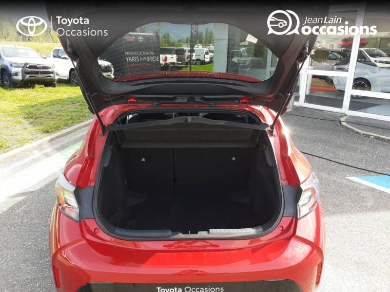 Toyota Corolla Corolla Hybride 122h Design 5p Rouge occasion à Seynod - photo n°10