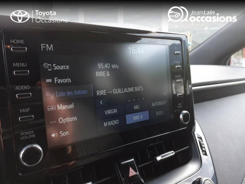 Toyota Corolla Corolla Hybride 122h Design 5p Rouge occasion à Seynod - photo n°16
