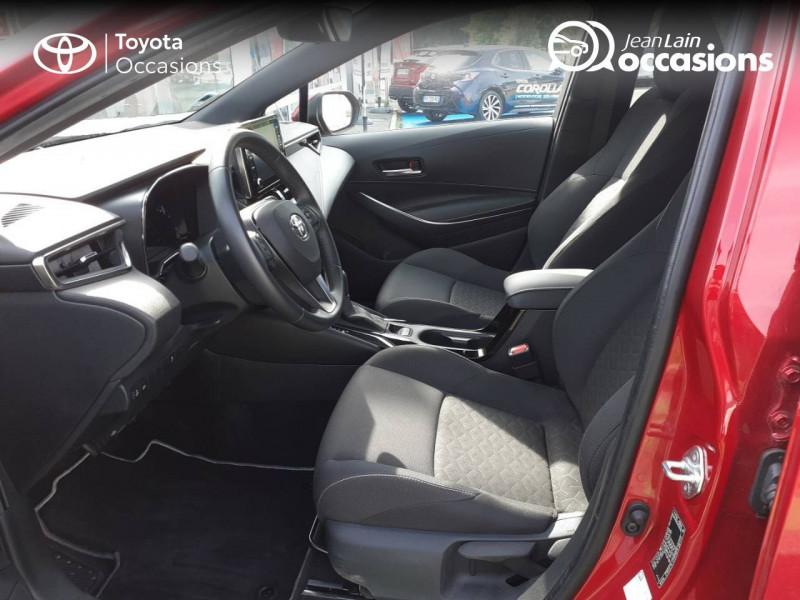 Toyota Corolla Corolla Hybride 122h Design 5p Rouge occasion à Seynod - photo n°11