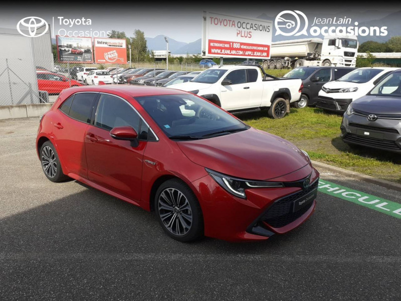 Toyota Corolla Corolla Hybride 122h Design 5p Rouge occasion à Seynod - photo n°3