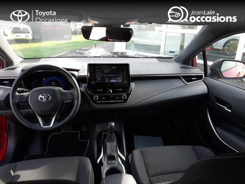 Toyota Corolla Corolla Hybride 122h Design 5p Rouge occasion à Seynod - photo n°18