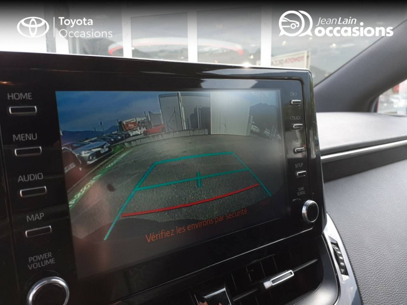 Toyota Corolla Corolla Hybride 122h Design 5p Rouge occasion à Seynod - photo n°19