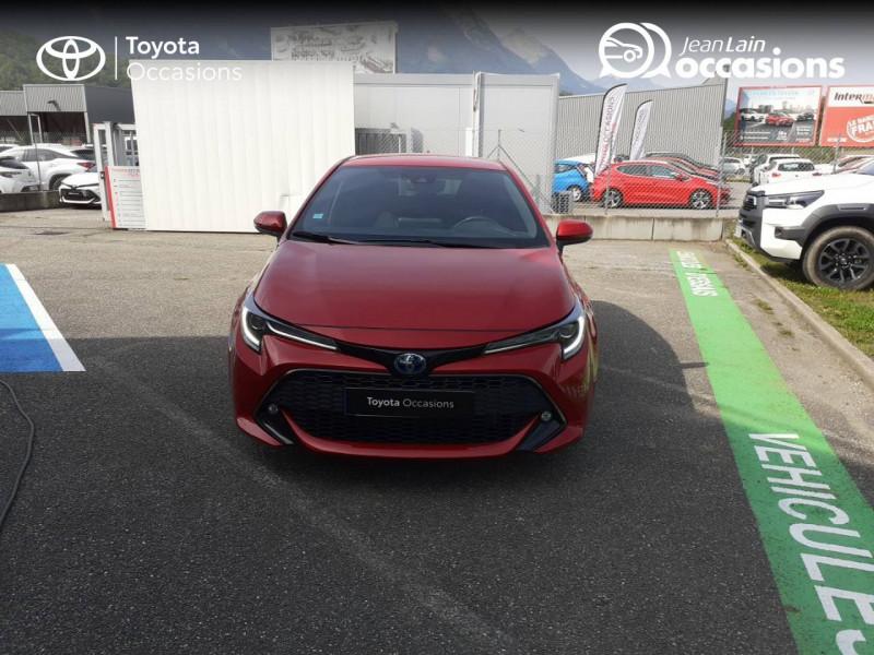 Toyota Corolla Corolla Hybride 122h Design 5p Rouge occasion à Seynod - photo n°2