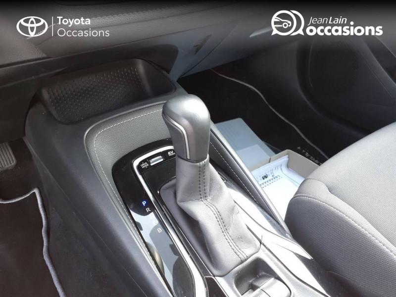 Toyota Corolla Corolla Hybride 122h Design 5p Rouge occasion à Seynod - photo n°13