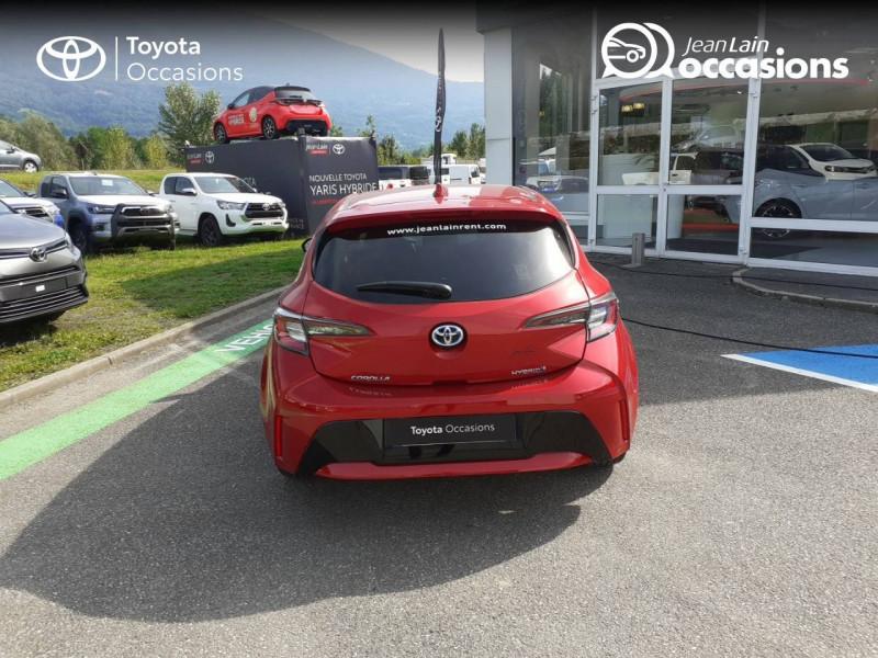 Toyota Corolla Corolla Hybride 122h Design 5p Rouge occasion à Seynod - photo n°6