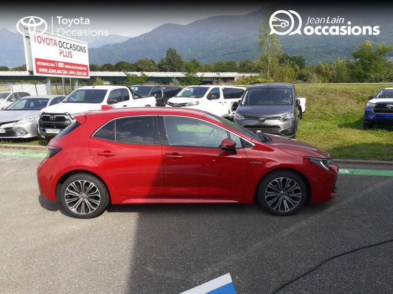 Toyota Corolla Corolla Hybride 122h Design 5p Rouge occasion à Seynod - photo n°4