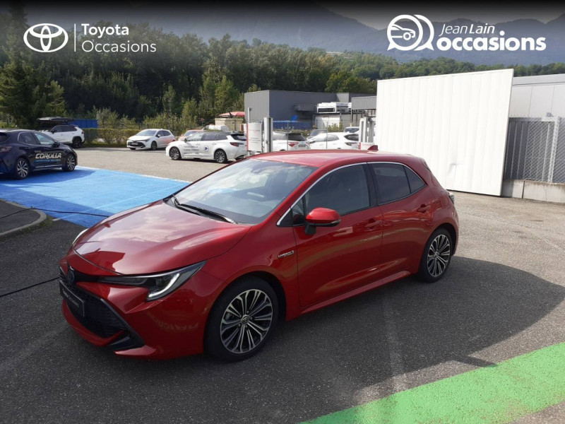 Toyota Corolla Corolla Hybride 122h Design 5p Rouge occasion à Seynod