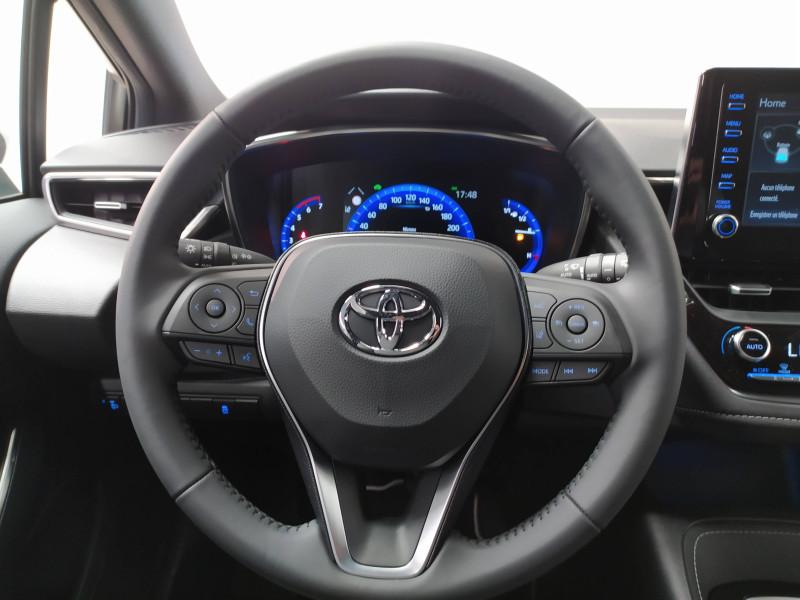Toyota Corolla Corolla Hybride 122h Design 5p Blanc occasion à PERIGUEUX - photo n°6