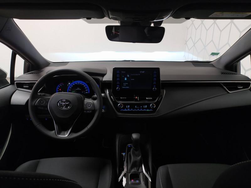 Toyota Corolla Corolla Hybride 122h Design 5p Blanc occasion à PERIGUEUX - photo n°5