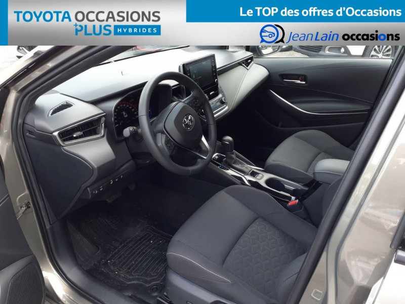 Toyota Corolla Corolla Touring Sports Hybride 122h Design 5p Marron occasion à Crolles - photo n°11