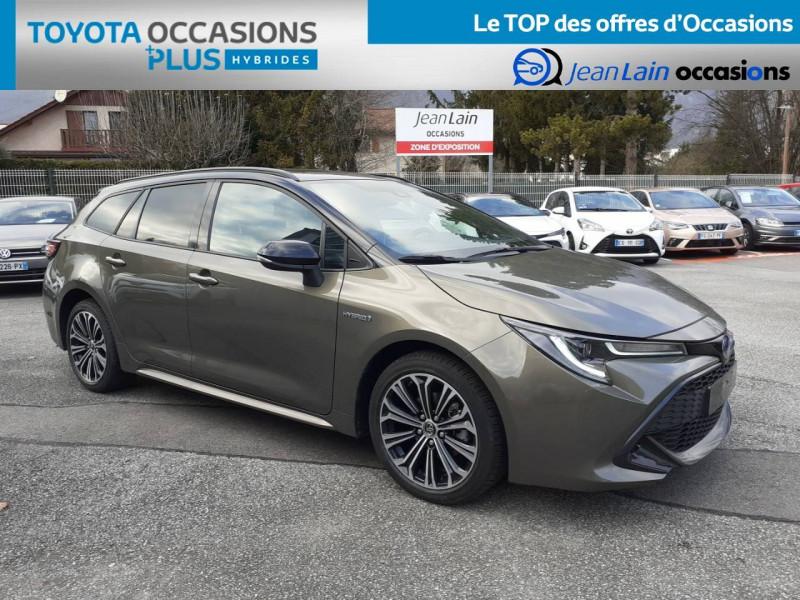Toyota Corolla Corolla Touring Sports Hybride 122h Design 5p Marron occasion à Crolles - photo n°3