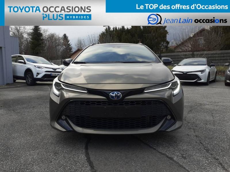 Toyota Corolla Corolla Touring Sports Hybride 122h Design 5p Marron occasion à Crolles - photo n°2