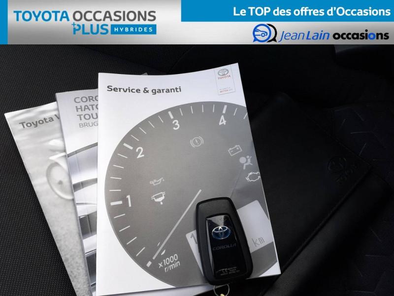 Toyota Corolla Corolla Touring Sports Hybride 122h Design 5p Marron occasion à Crolles - photo n°19