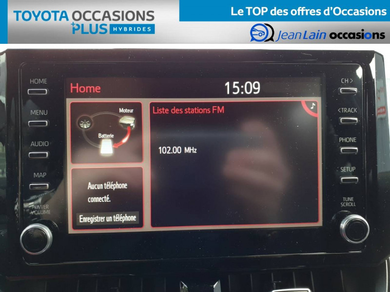 Toyota Corolla Corolla Touring Sports Hybride 122h Design 5p Marron occasion à Crolles - photo n°15