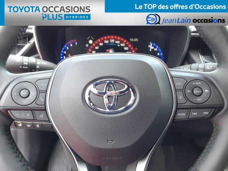 Toyota Corolla Corolla Touring Sports Hybride 122h Design 5p Marron occasion à Crolles - photo n°12