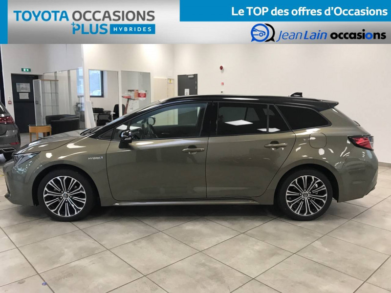 Toyota Corolla Corolla Touring Sports Hybride 122h Design 5p Marron occasion à Voiron - photo n°8