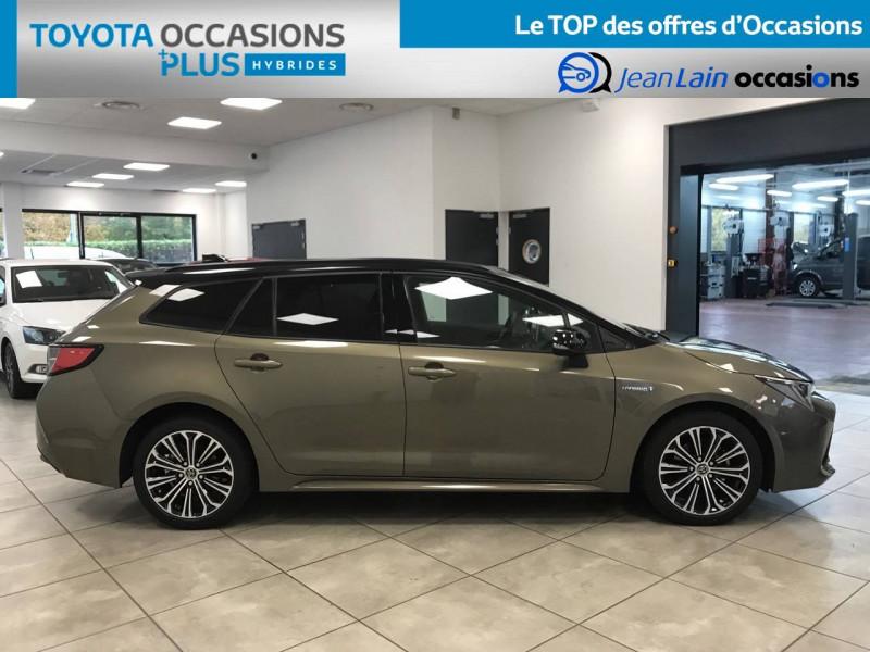 Toyota Corolla Corolla Touring Sports Hybride 122h Design 5p Marron occasion à Voiron - photo n°4