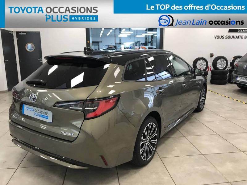 Toyota Corolla Corolla Touring Sports Hybride 122h Design 5p Marron occasion à Voiron - photo n°5