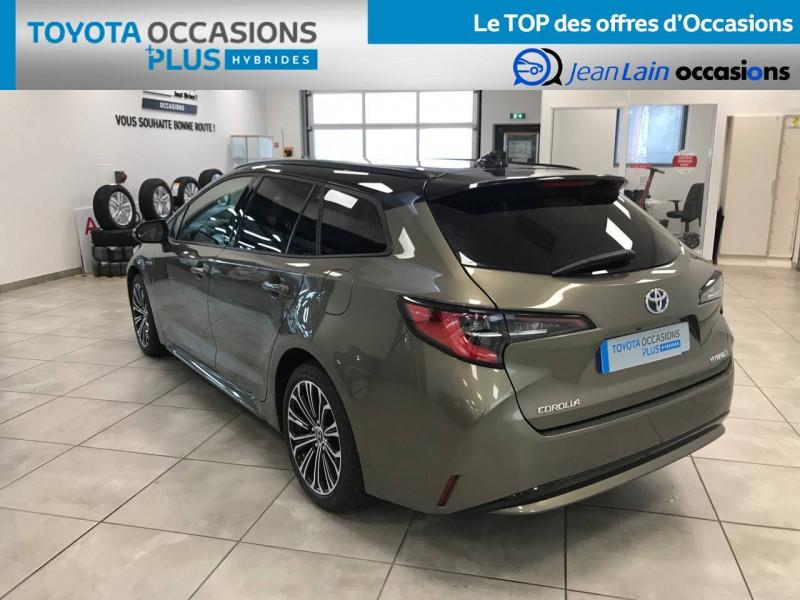 Toyota Corolla Corolla Touring Sports Hybride 122h Design 5p Marron occasion à Voiron - photo n°7