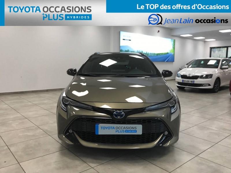 Toyota Corolla Corolla Touring Sports Hybride 122h Design 5p Marron occasion à Voiron - photo n°2