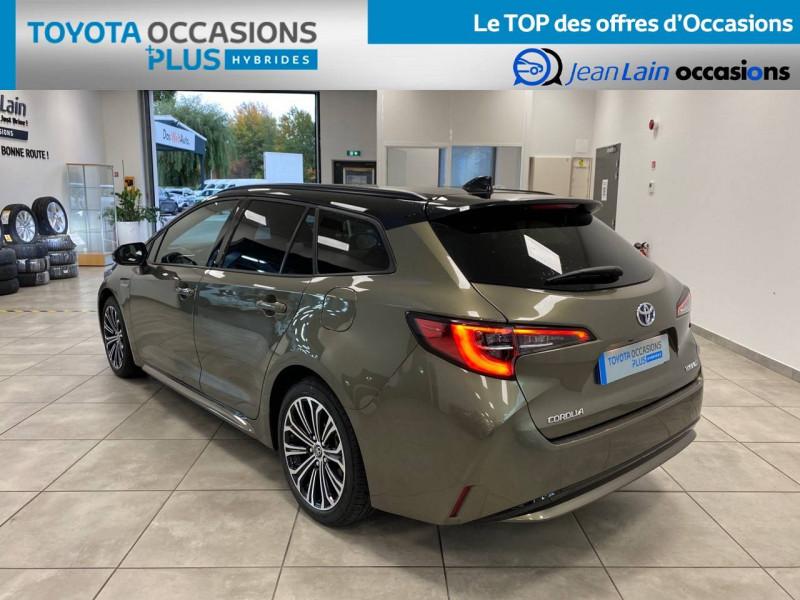 Toyota Corolla Corolla Touring Sports Hybride 122h Design 5p Vert occasion à Seyssinet-Pariset - photo n°7