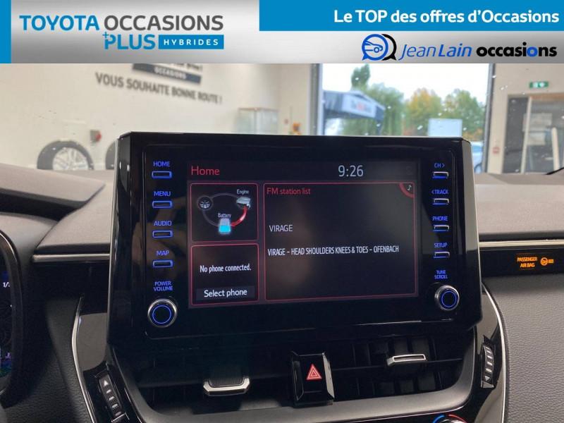 Toyota Corolla Corolla Touring Sports Hybride 122h Design 5p Vert occasion à Seyssinet-Pariset - photo n°15