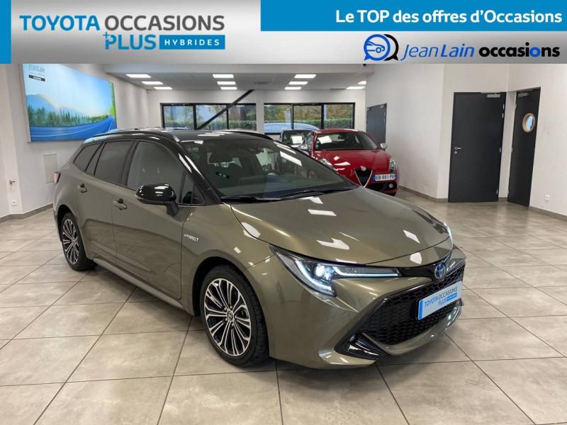 Toyota Corolla Corolla Touring Sports Hybride 122h Design 5p Vert occasion à Seyssinet-Pariset - photo n°3