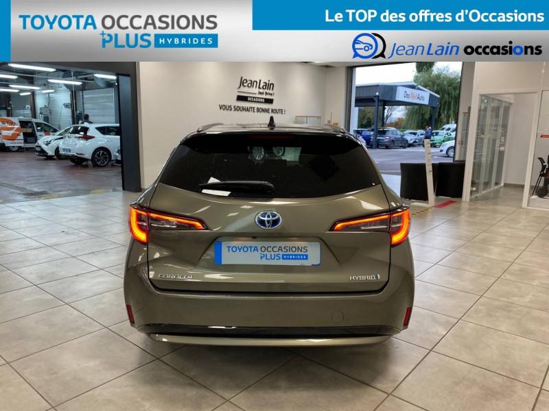 Toyota Corolla Corolla Touring Sports Hybride 122h Design 5p Vert occasion à Seyssinet-Pariset - photo n°6