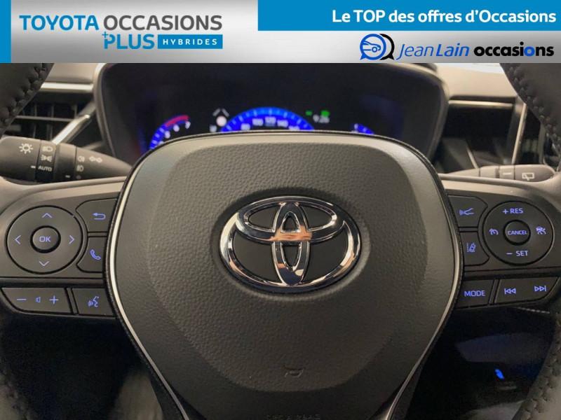 Toyota Corolla Corolla Touring Sports Hybride 122h Design 5p Vert occasion à Seyssinet-Pariset - photo n°12