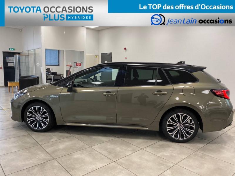 Toyota Corolla Corolla Touring Sports Hybride 122h Design 5p Vert occasion à Seyssinet-Pariset - photo n°8