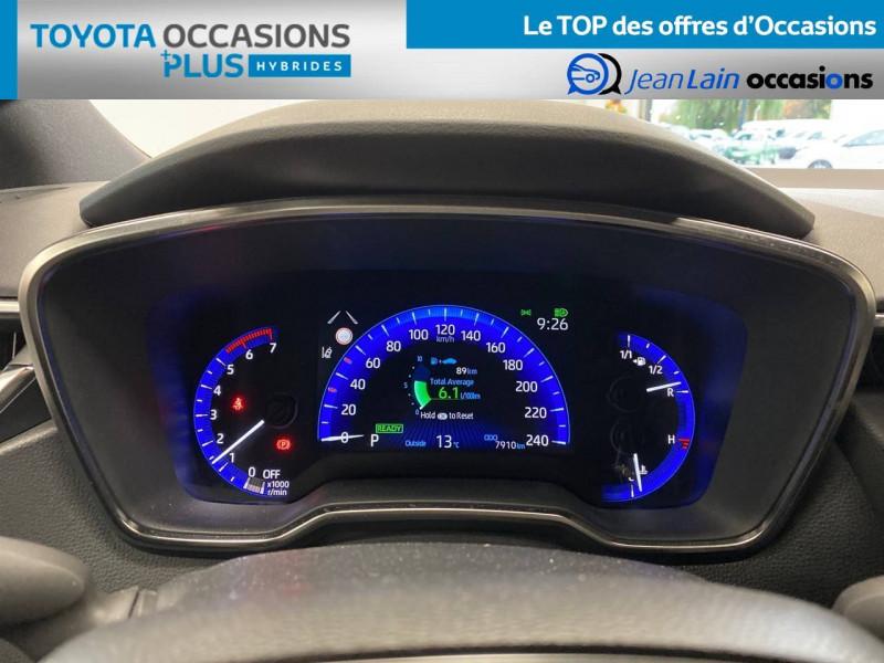 Toyota Corolla Corolla Touring Sports Hybride 122h Design 5p Vert occasion à Seyssinet-Pariset - photo n°16
