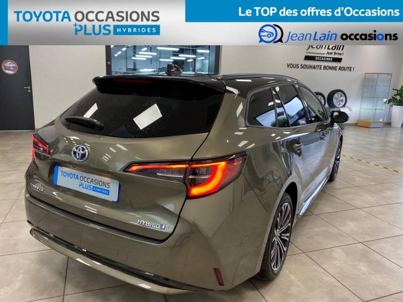 Toyota Corolla Corolla Touring Sports Hybride 122h Design 5p Vert occasion à Seyssinet-Pariset - photo n°5