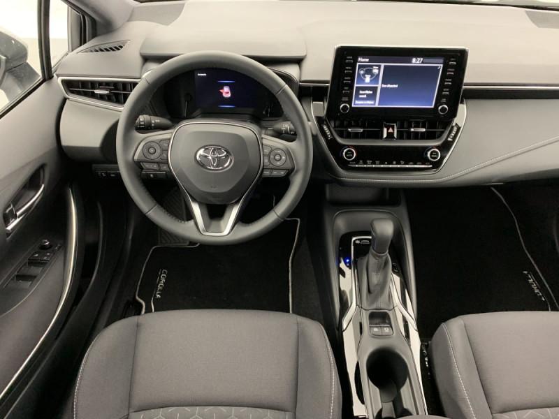 Toyota Corolla HYBRIDE 122H DYNAMIC Gris occasion à SAINT-GREGOIRE - photo n°11