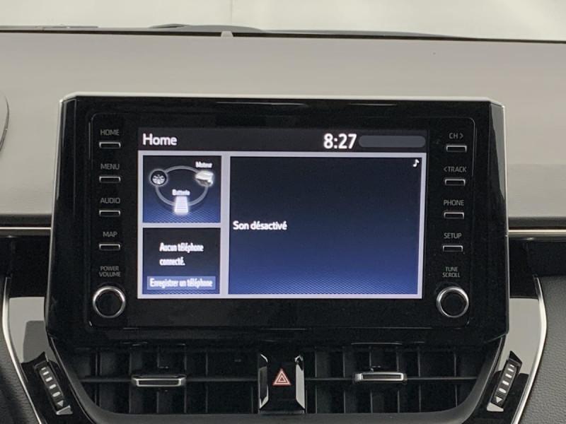 Toyota Corolla HYBRIDE 122H DYNAMIC Gris occasion à SAINT-GREGOIRE - photo n°12