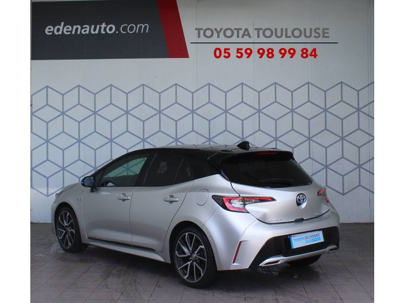 Toyota Corolla HYBRIDE MY21 184h Collection Gris occasion à Toulouse - photo n°2