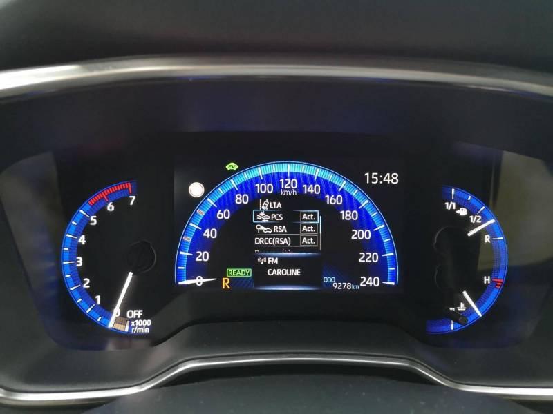 Toyota Corolla PRO HYBRIDE 122h Dynamic Gris occasion à VANNES - photo n°8