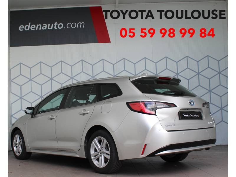 Toyota Corolla TOURING SPORTS HYBRIDE PRO MY20 122h Dynamic Business (avec  Gris occasion à Toulouse - photo n°2
