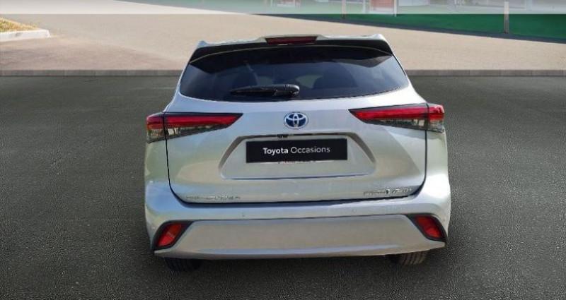 Toyota Highlander Hybrid 248ch Lounge AWD-I Gris occasion à Hoenheim - photo n°4