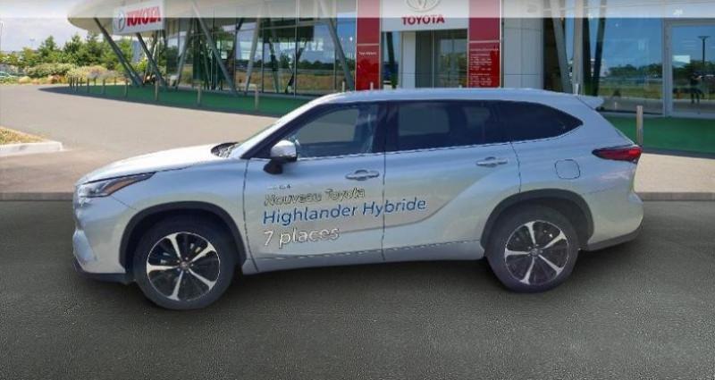 Toyota Highlander Hybrid 248ch Lounge AWD-I Gris occasion à Hoenheim - photo n°3