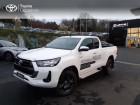 Toyota Hilux 2.4 D-4D 150ch X-Tra Cabine Légende 4WD MY20 Blanc à LANESTER 56