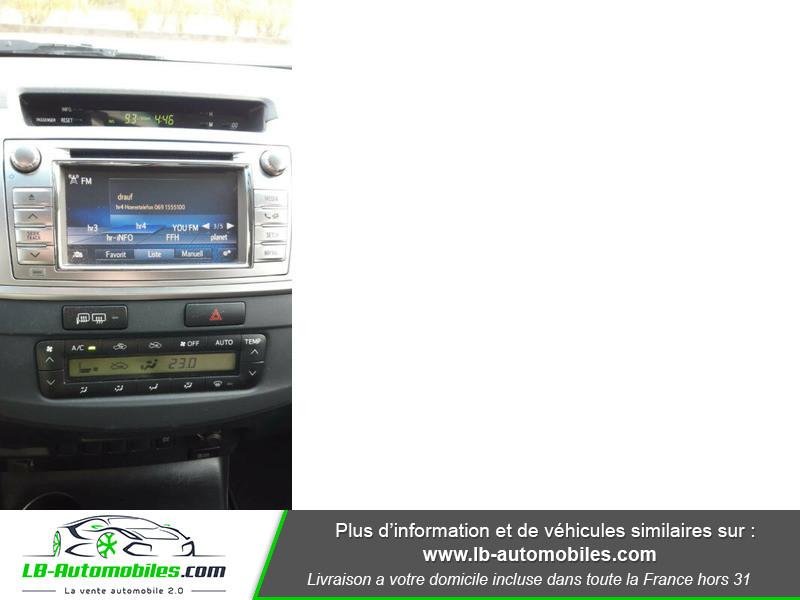 Toyota Hilux D-4D Double Cab 171 4WD BVA Argent occasion à Beaupuy - photo n°4