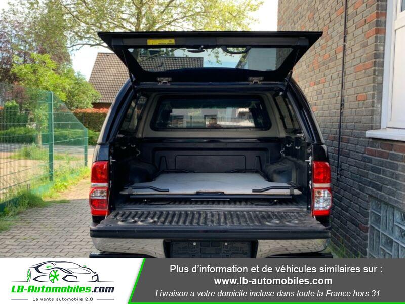 Toyota Hilux D-4D Double Cab 171 4WD BVA Noir occasion à Beaupuy - photo n°10