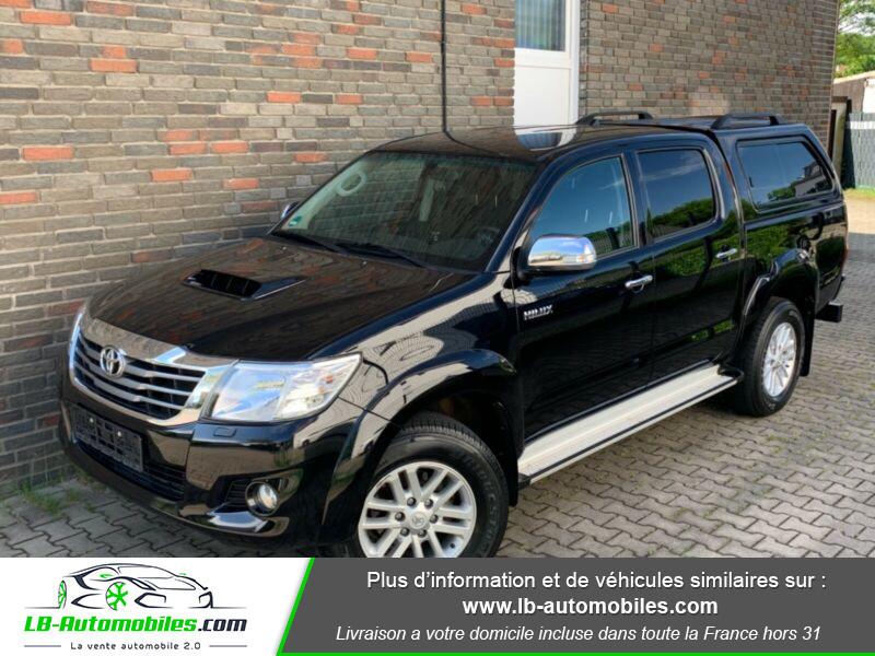Toyota Hilux D-4D Double Cab 171 4WD BVA Noir occasion à Beaupuy