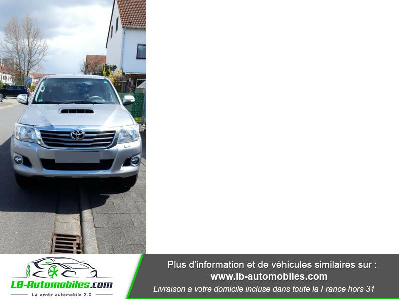 Toyota Hilux D-4D Double Cab 171 4WD BVA Argent occasion à Beaupuy
