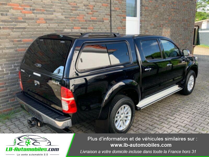 Toyota Hilux D-4D Double Cab 171 4WD BVA Noir occasion à Beaupuy - photo n°3