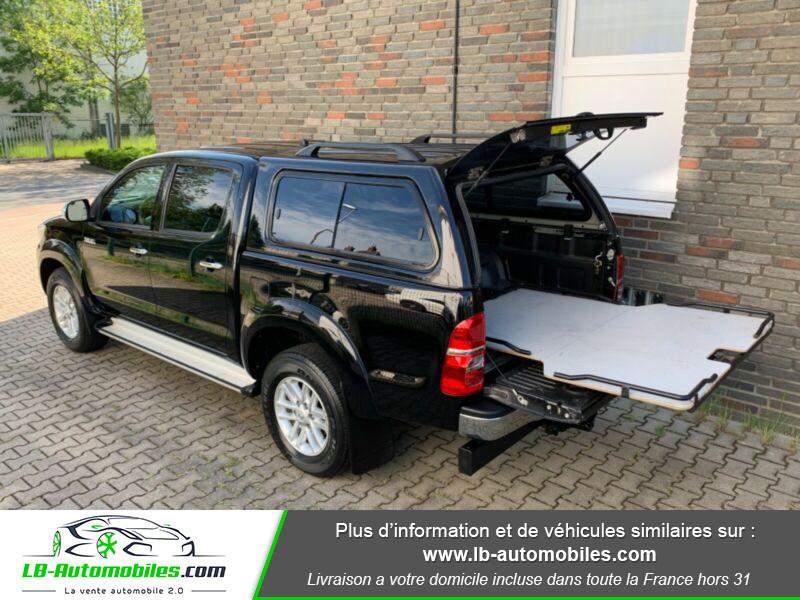 Toyota Hilux D-4D Double Cab 171 4WD BVA Noir occasion à Beaupuy - photo n°11
