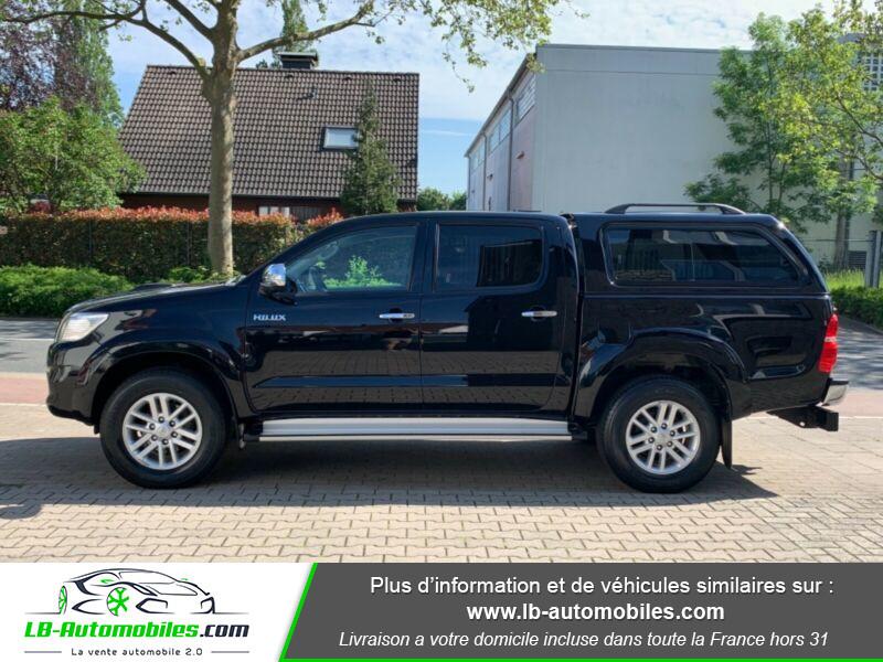 Toyota Hilux D-4D Double Cab 171 4WD BVA Noir occasion à Beaupuy - photo n°7