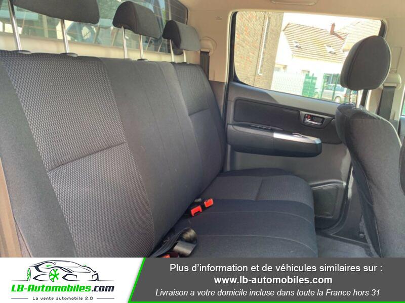 Toyota Hilux D-4D Double Cab 171 4WD BVA Noir occasion à Beaupuy - photo n°5